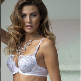 AMBRA  AMBRA Lingerie BH's Grand Arches  Push-up BH White  0328