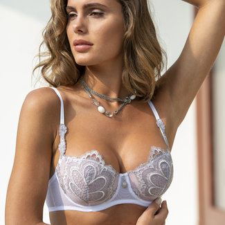 AMBRA  AMBRA Lingerie BH's Grand Arches Balconette BH wit 0322