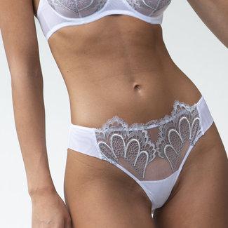 AMBRA  AMBRA Lingerie slips Grand Arches brasil White/grey 1329