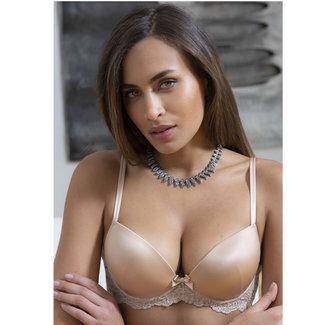 AMBRA  AMBRA Lingerie Bras Platinum Fashion  Push up Bra Skin 0338FL