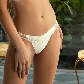 Lise Charmel  Lise Charmel lingerie Emotion Beauté String Ivoor ACG0562