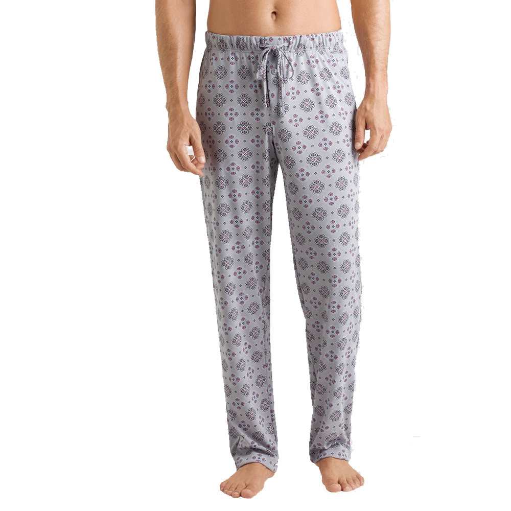 Hanro Heren Sleep & Lounge Night & Day lange broek grijs