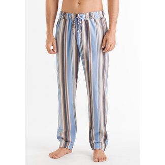 Hanro  Hanro Men Sleep & Lounge Night & Day long pants orange blue stripe