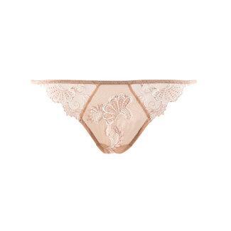 Lise Charmel  Lise Charmel Lingerie Dressing Floral String  Skin/Ivory ACC0588