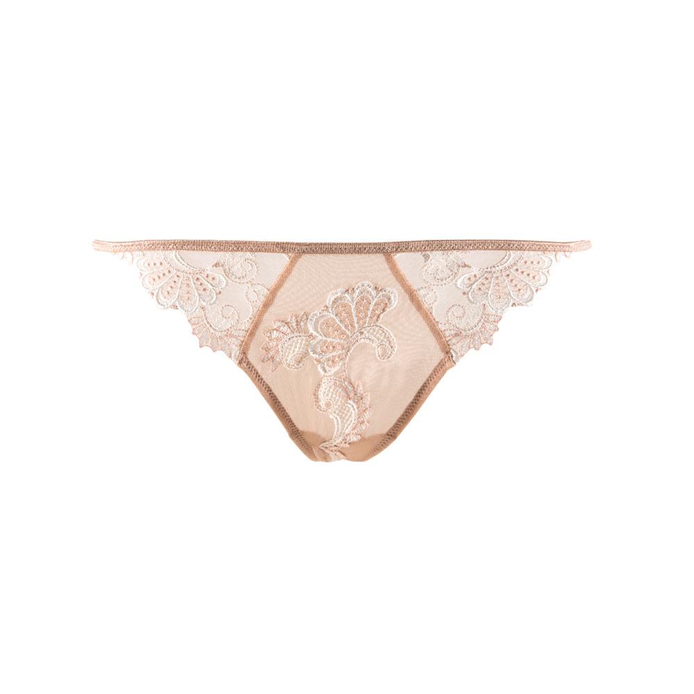 Lise Charmel Lingerie Dressing Floral string huid/ivoor ACC0588