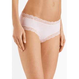 Hanro  Hanro ladies lingerie Cotton Lace Hipster pink
