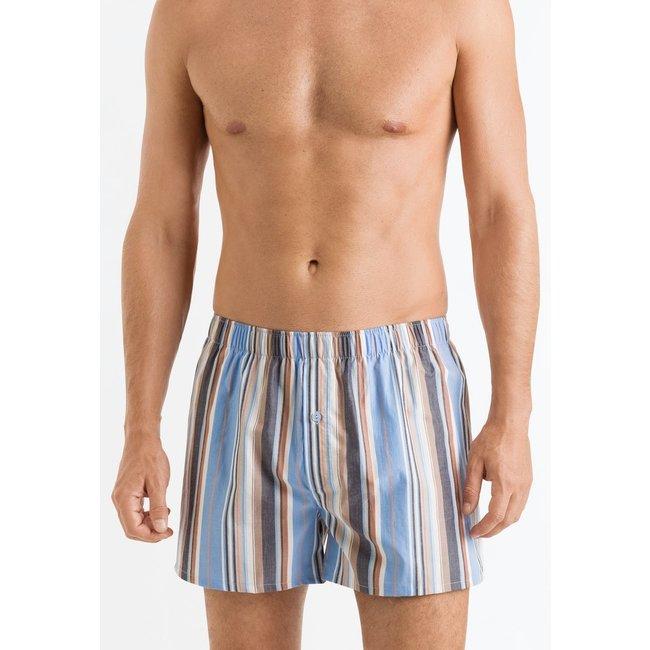 Hanro  Hanro Fancy Woven boxer stripes 074015