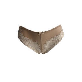 AMBRA  AMBRA Lingerie Slips Titanium Brasil Huid 1439D