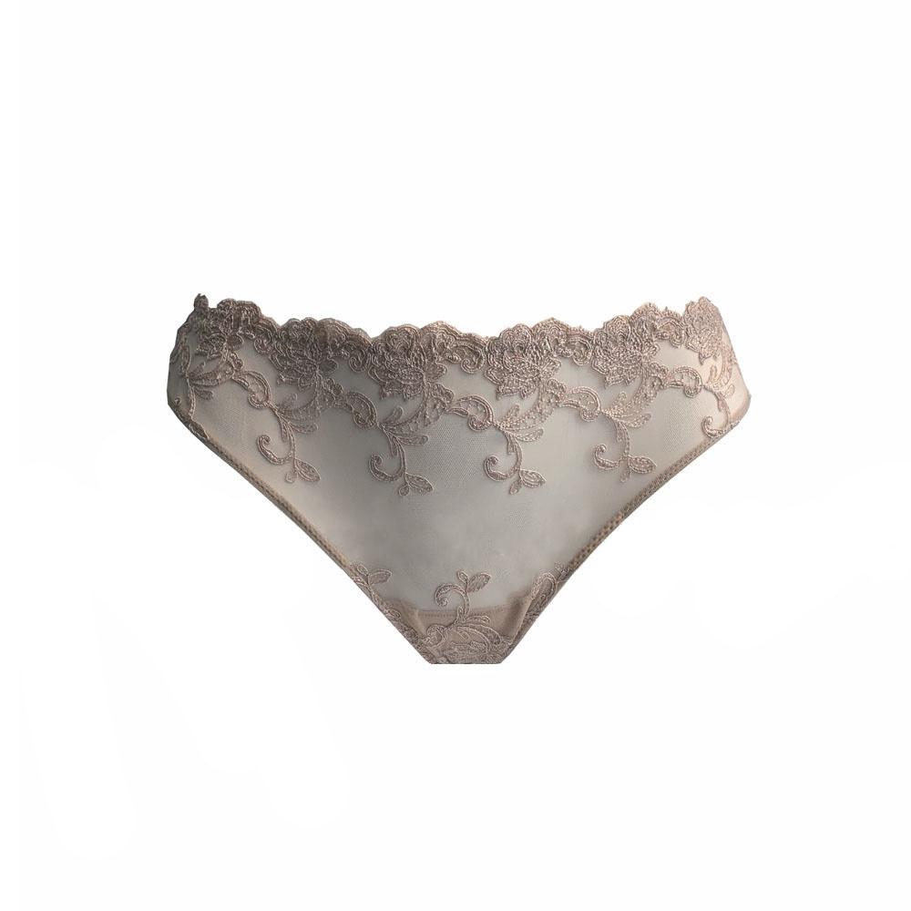 AMBRA Lingerie slips Platinum Fashion slip huid 1332F