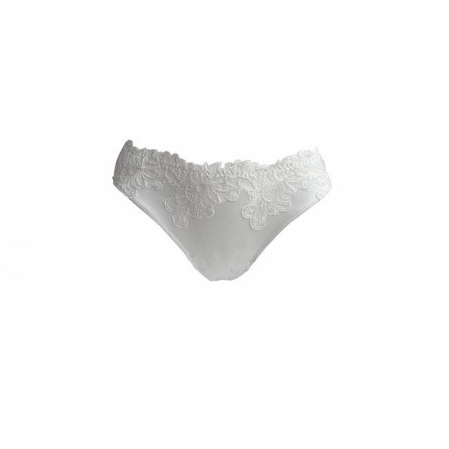 AMBRA  AMBRA Lingerie slips Titanium string  ivoor 1430