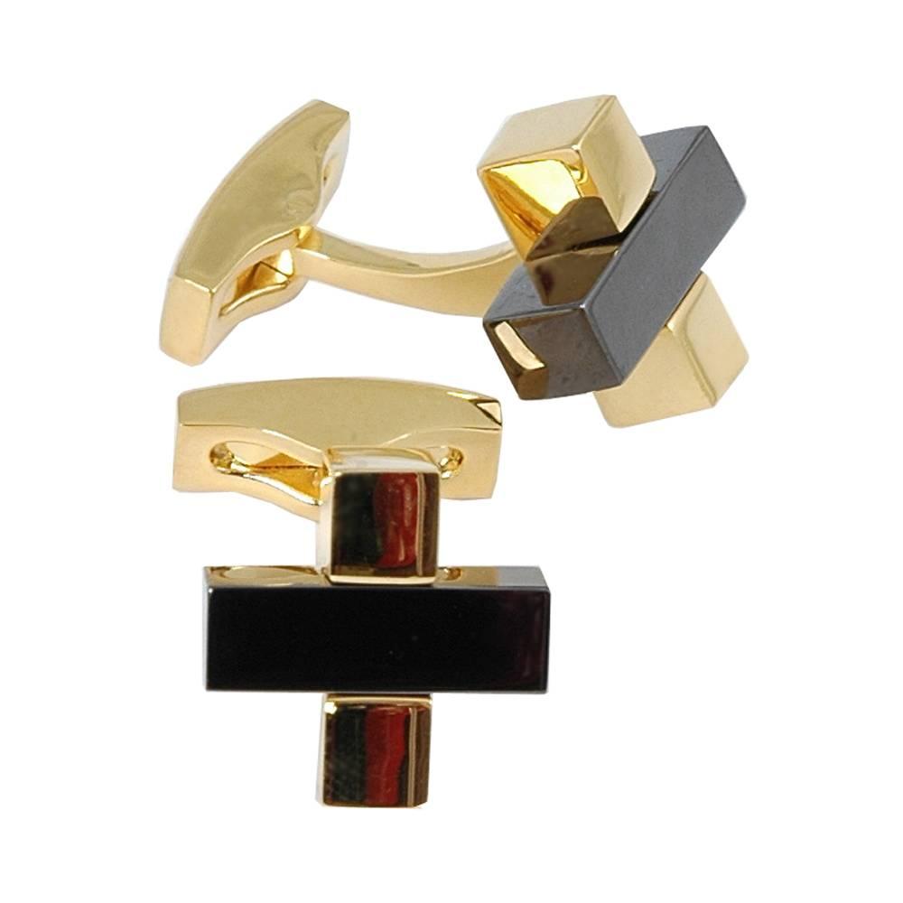 Manchetknoop·Volare Collection·goud·VC268
