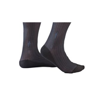 Cesare Paciotti Black·socks·cable·Spinato