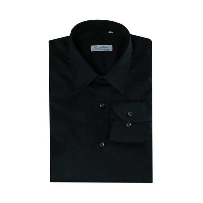 Overhemd Zwart Slim Fit.A Zwart Shirt Shop Zwart Shirt Aliseo Online Italian Design