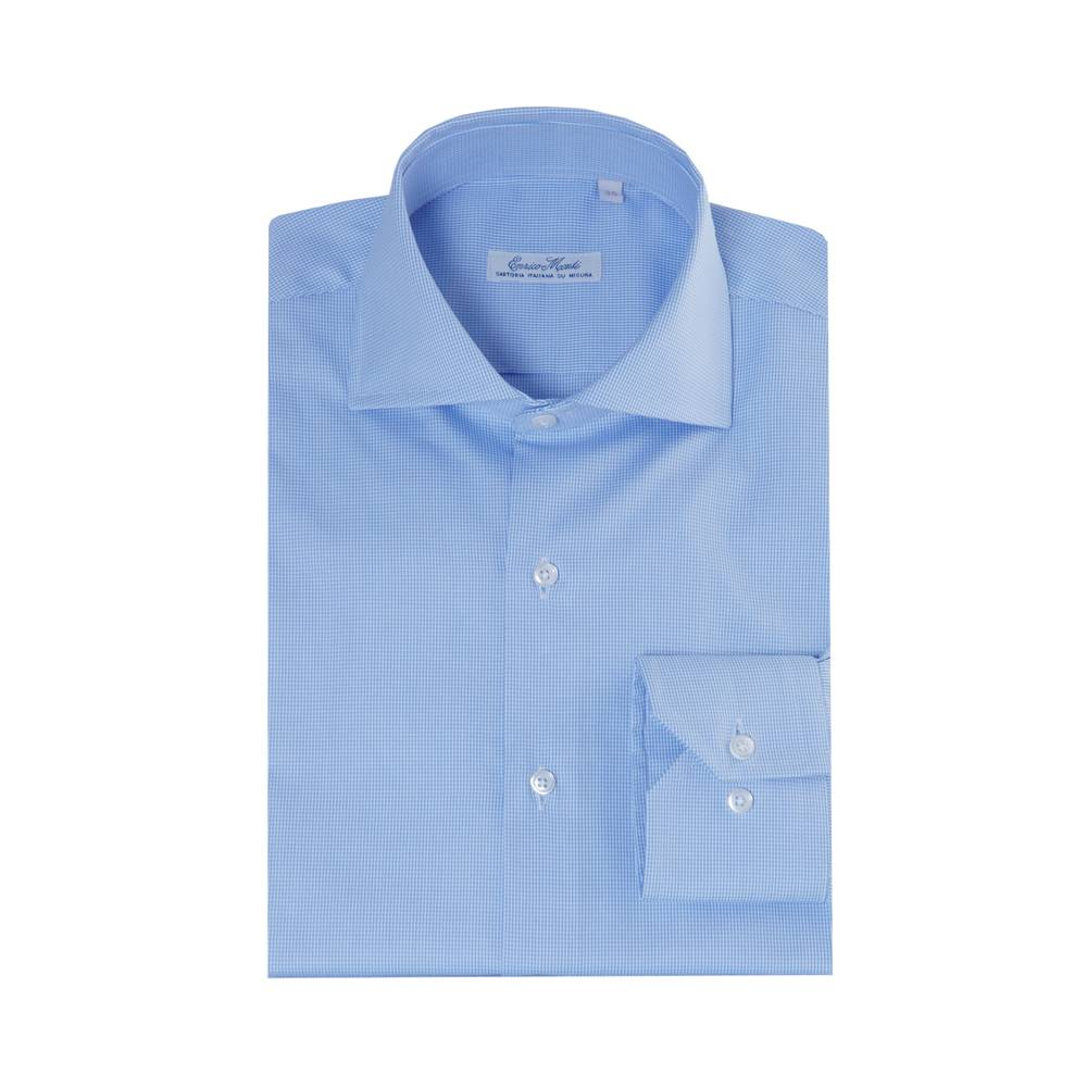 Italian Design Monti blauw overhemd Garda
