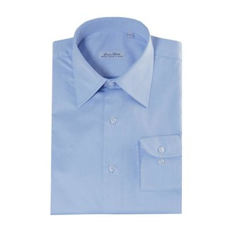 Enrico Monti  Monti blaues Hemd Como