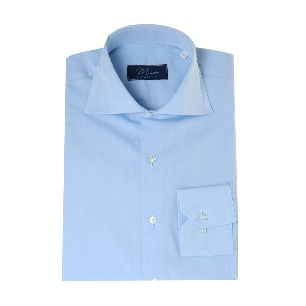 Italian Design Monti blauw overhemd San Remo
