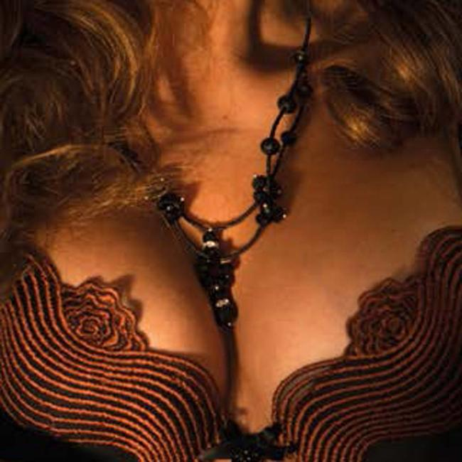 AMBRA  AMBRA Lingerie Bras Dunes push up bra Black 0478