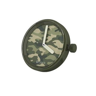 O clock O clock Uhr Camouflage Green