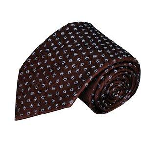 Paolo Albizzati Brown necktie PA12