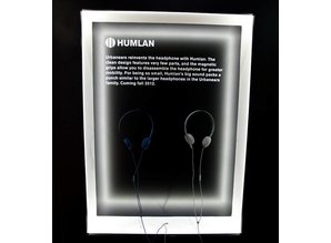 Urbanears Humlan donker blauw koptelefoon