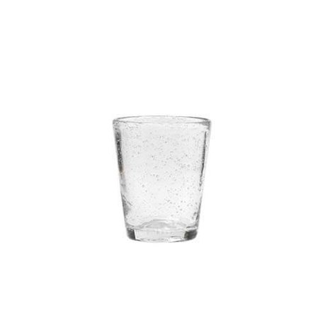 Glas bubbels, helder medium