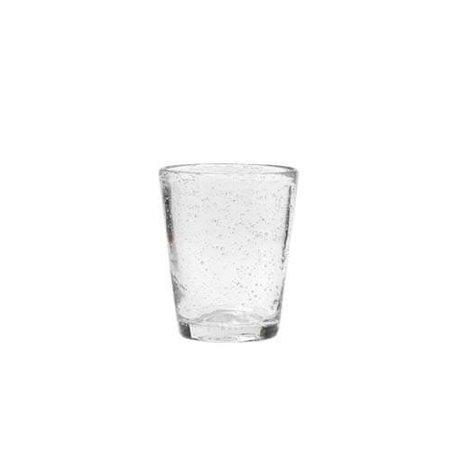 Glas bubbels, helder