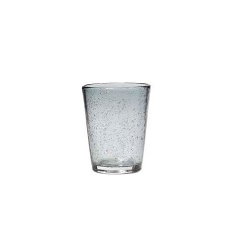 Glas bubbels, grijs medium