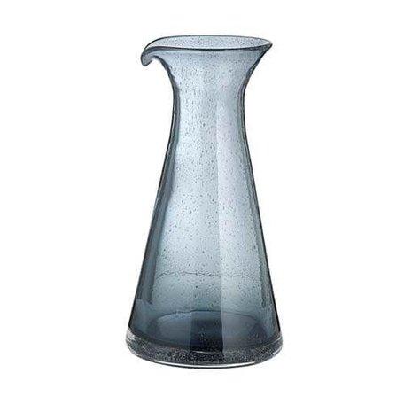 Waterkaraf - bubbels grijs