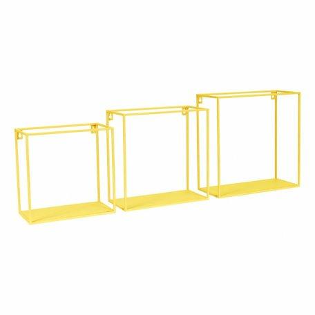 Wall box yellow