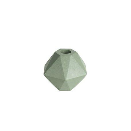 Kandelaar hexagoon - groen