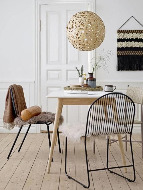 Bloomingville meubelen metalen stoel