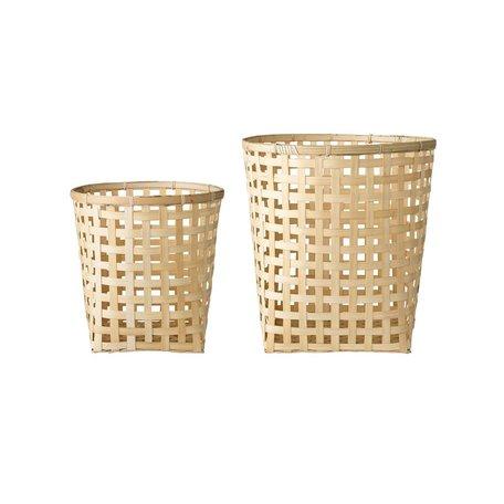 Bamboe mandenset