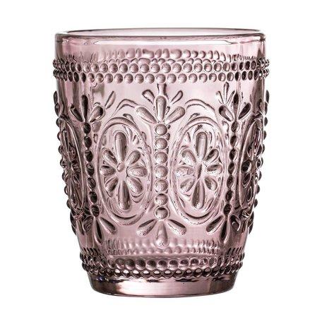 Drinkglas paars