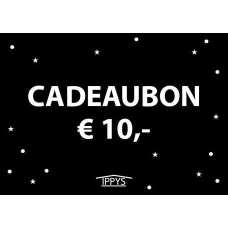 IPPYS cadeaubon 10 euro