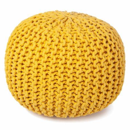 Poef geel