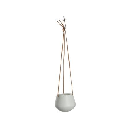 Hangpot wit (klein)
