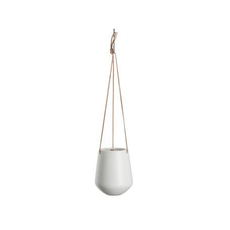 Hangpot wit (groot)