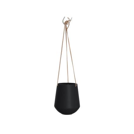 Hangpot zwart (groot)