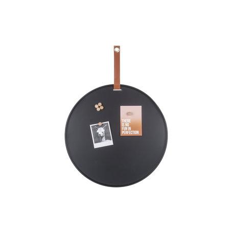 Memo magneetbord zwart