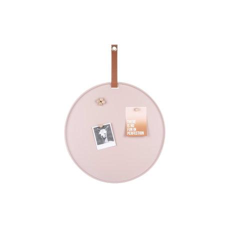 Memo magneetbord roze