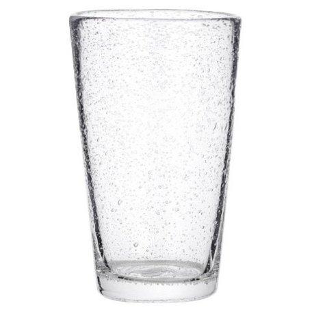 Glas bubbels helder groot