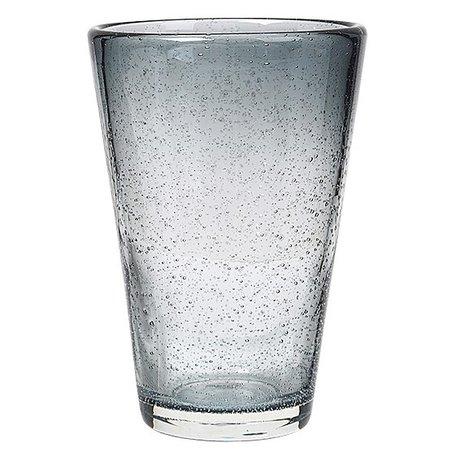 Glas bubbels grijs groot
