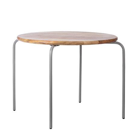Circle tafel grijs