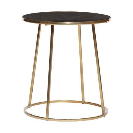 Marmeren gouden tafeltje