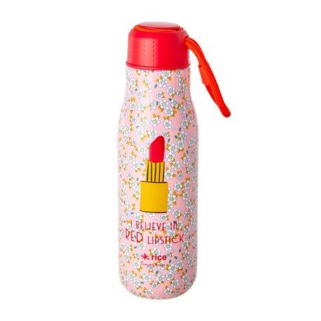 Drinkfles lipstick