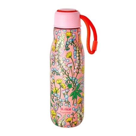Drinkfles bloemen