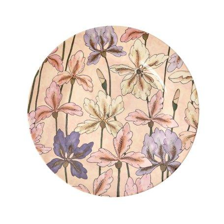 Roze bord Iris