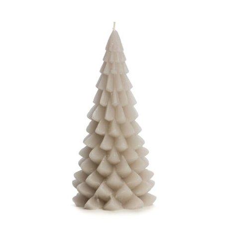 Kerstboom kaars groot (linnen)