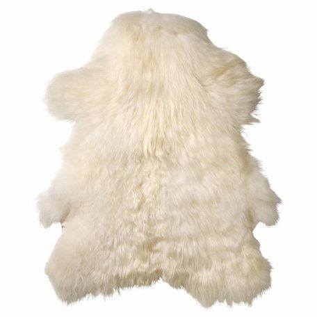 Kleed witte schapenvacht