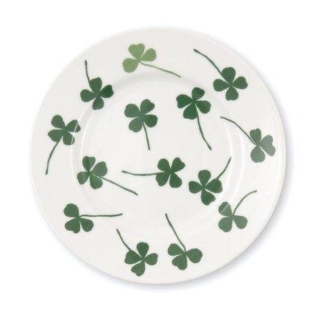bord 22 cm. lucky clover